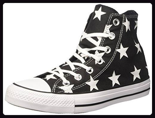 Converse Damen 156810c Sneakers, Schwarz (BlackWhiteWhite