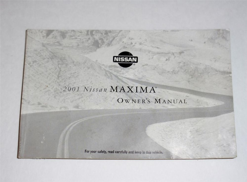 details about 2001 nissan maxima owners manual book pinterest rh pinterest com 2001 Nissan Maxima Manual Transmission' 2001 Nissan Maxima Manual PDF