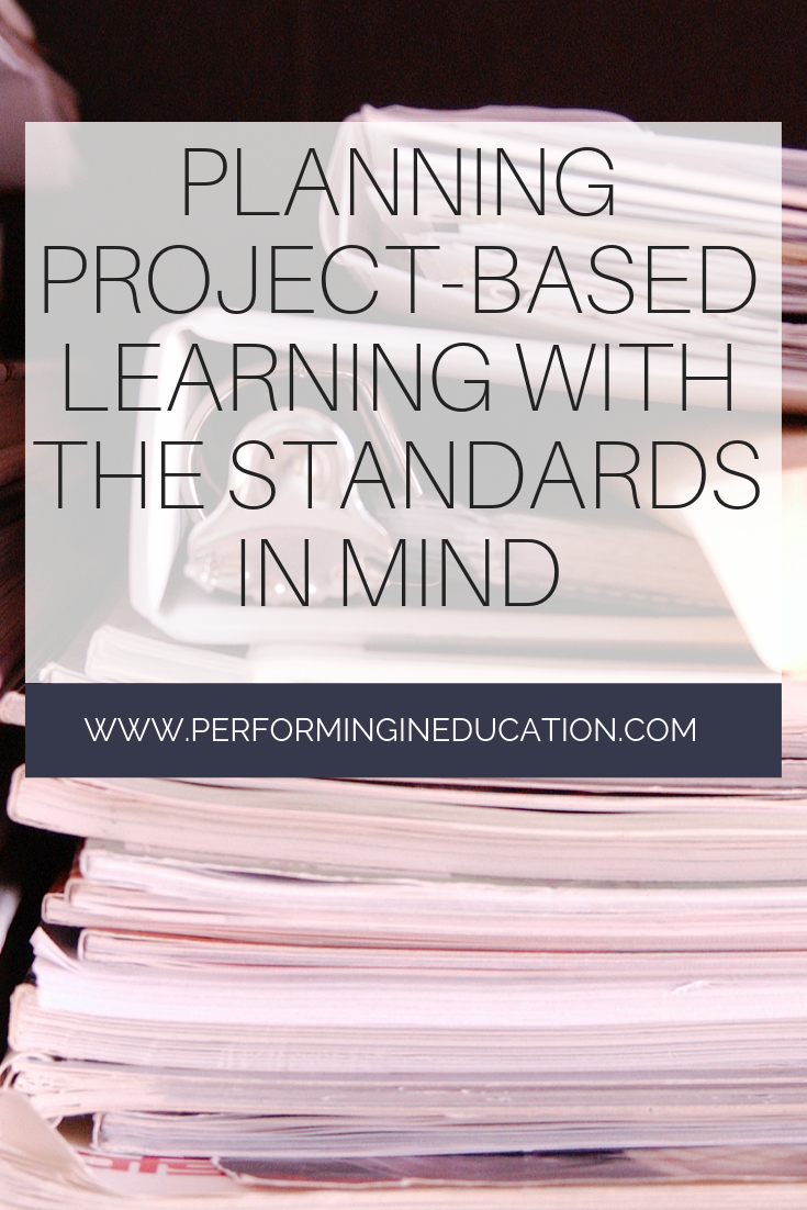 Planning ProjectBased Learning with the Standards in Mind is part of Project based learning, Project based learning high school, Problem based learning, Project based learning middle school, Project based learning kindergarten, Middle school projects - Planning projectbased learning becomes a little tricky when it comes to the academic standards  This post provides tips for teaching PBL with standards!