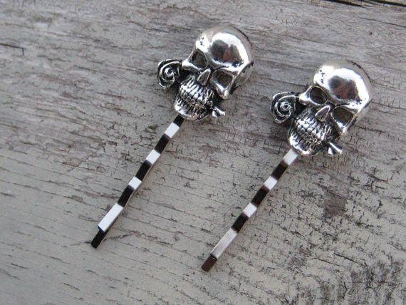 Frugal Skull Bobby Hair Pin Health & Beauty