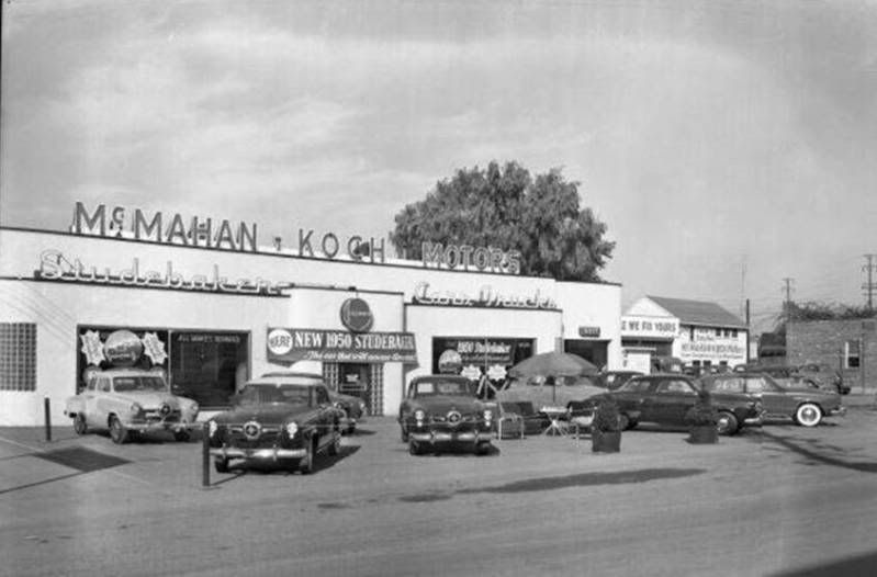 1949 Studebaker Dealership I think in the Louisville KY
