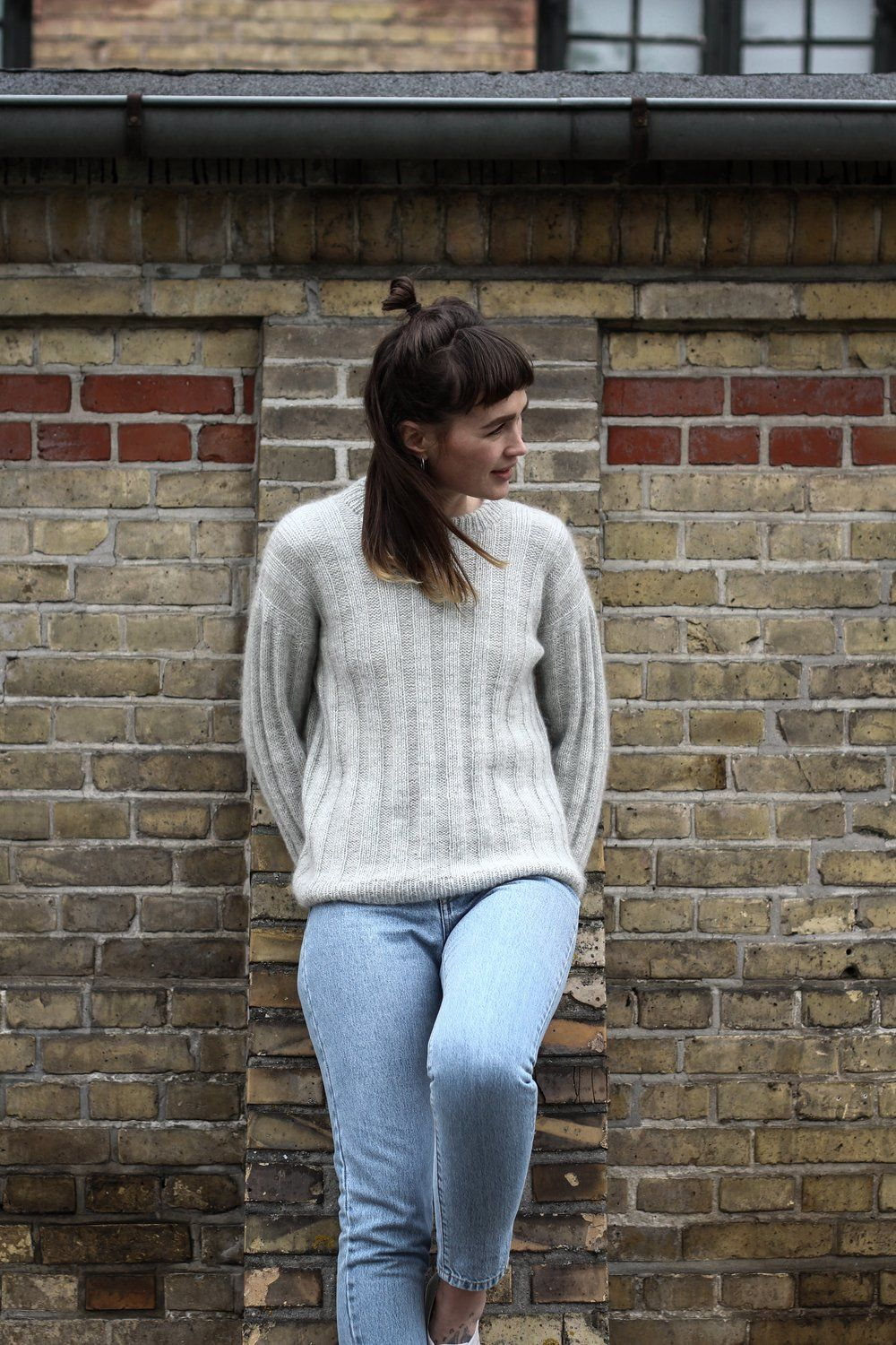 Photo of Stripes On Long Sleeve Sweater