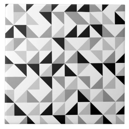 Triangle Tiling Pictures Of Geometric Patterns Designs Geometric Pattern Design Pattern Design Cool Patterns