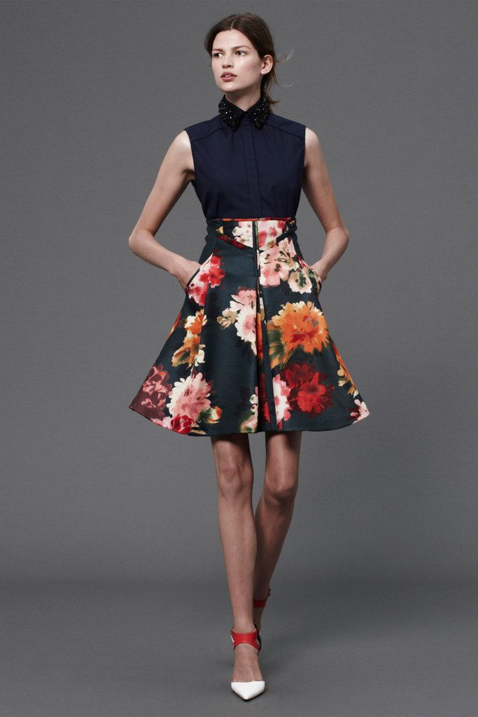 J. Mendel Resort 2013 Collection Photos - Vogue