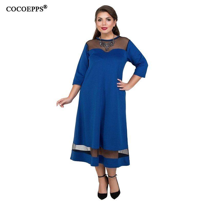 0437ea30505 5xl 6xl Plus Size Summer Dress Elegant Mesh Evening Party Women Dress Large  Size A Line. Visit. April 2019