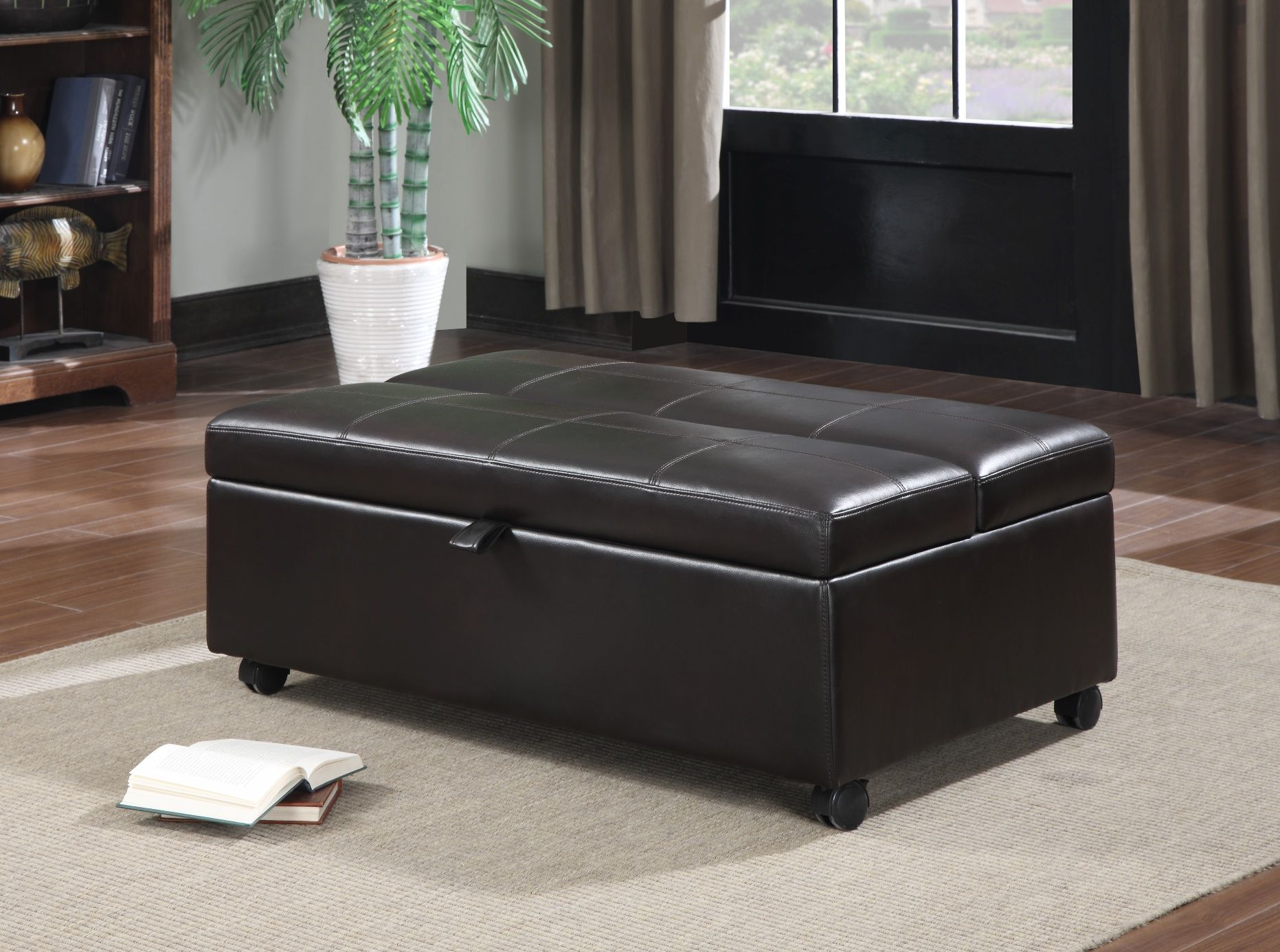 Ottoman with twin sleeper Costco  For the Home  Folding
