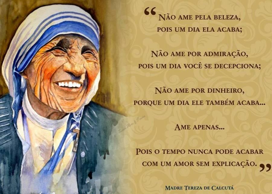 Pin De Luci Cardinelli Em Mensagens Frases De Madre Teresa