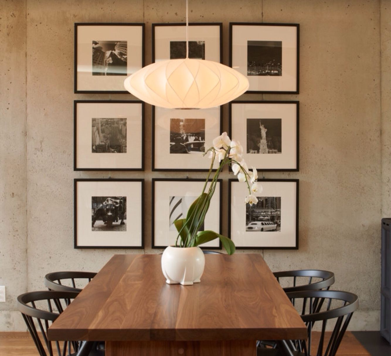 Wall Collage Dining Room Contemporary Dining Room Walls Dining Room Wall Decor