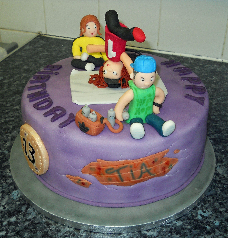 Hip Hop Cake Kids party food, Hip hop party, Cake