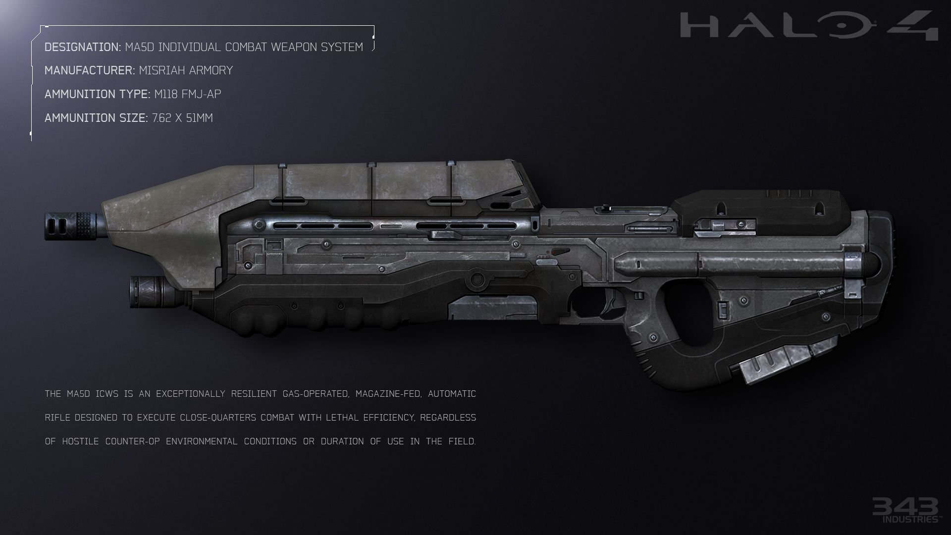 Image Result For Halo 4 Assault Rifle RifleWallpaper BackgroundsHaloVideo