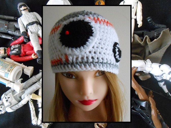 29ebca2aa8a Star Wars BB8 Droid Crochet Beanie