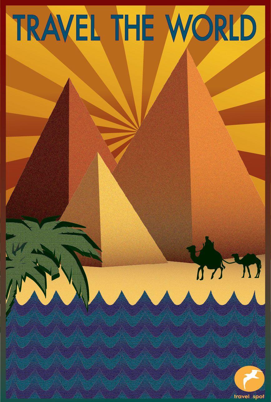 Melissa Jackson Art Deco Travel Poster Introduction
