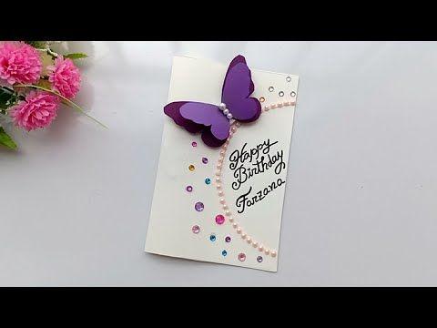 Beautiful Handmade Birthday card for Sister / Birthday cards idea. | Sister birthday card, Diy ...