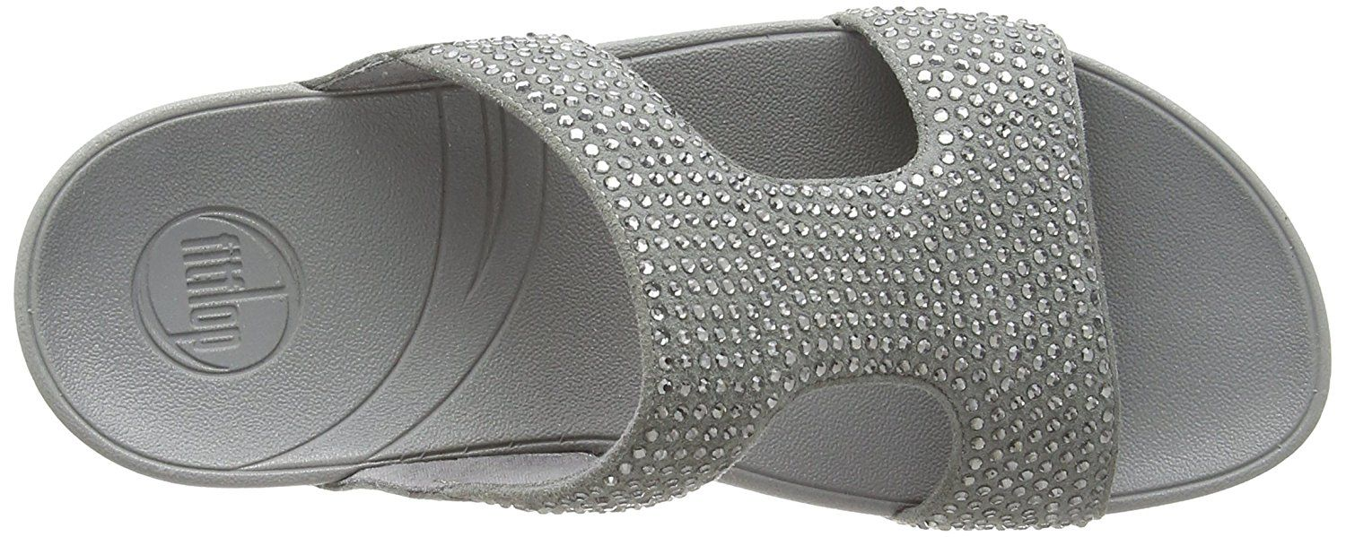 ef78a595261227 FitFlop Women s Rokkit Crystal Slide Sandal -- You can find more details by  visiting the image link. (This is an affiliate link)  shoes