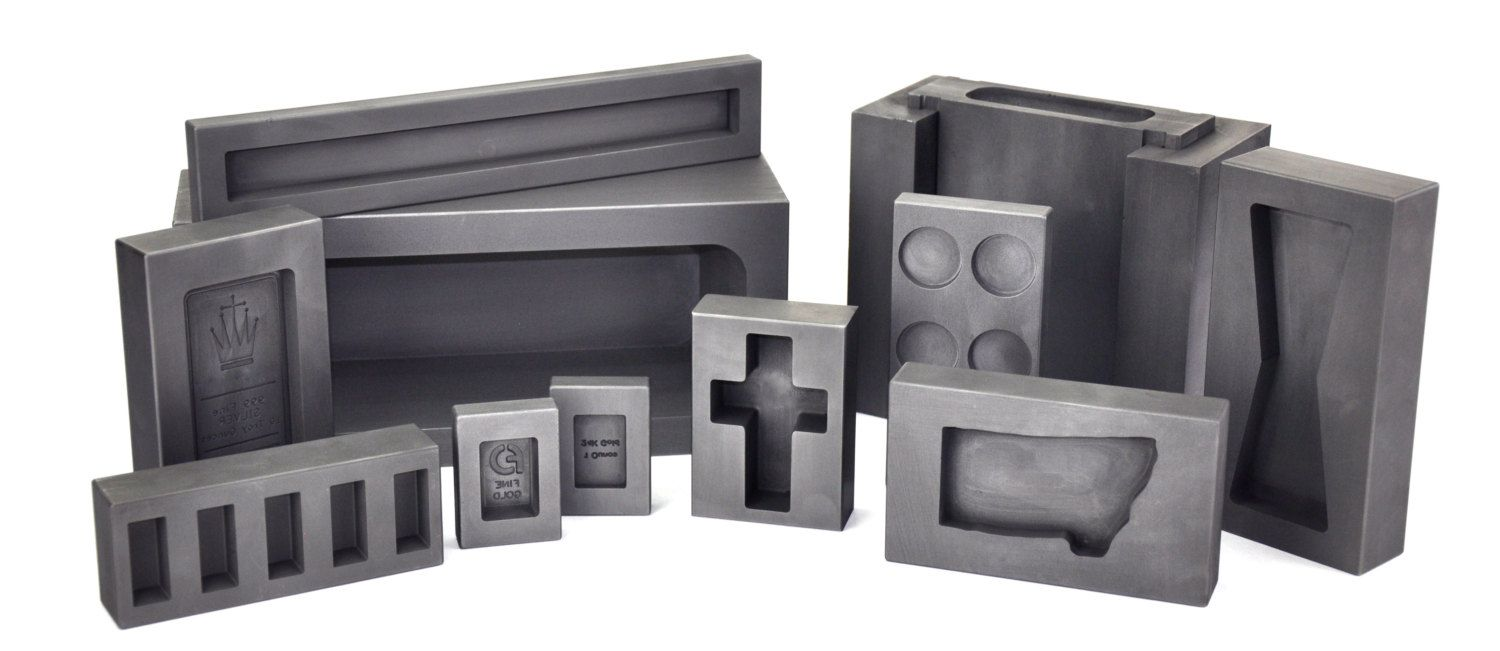 Custom Graphite Ingot Molds In Any Shape / Size for by PMCSupplies