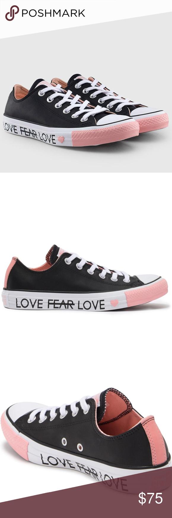 cliente primero a juego en color los más valorados Converse Chuck Taylor Valentines Day Edition Shoes NWT in 2020 ...
