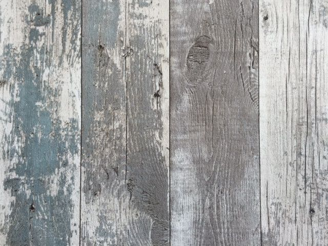 Steigerhout Behang Slaapkamer : Steigerhout planken behang noordwand 68616 slaapkamer opknappen
