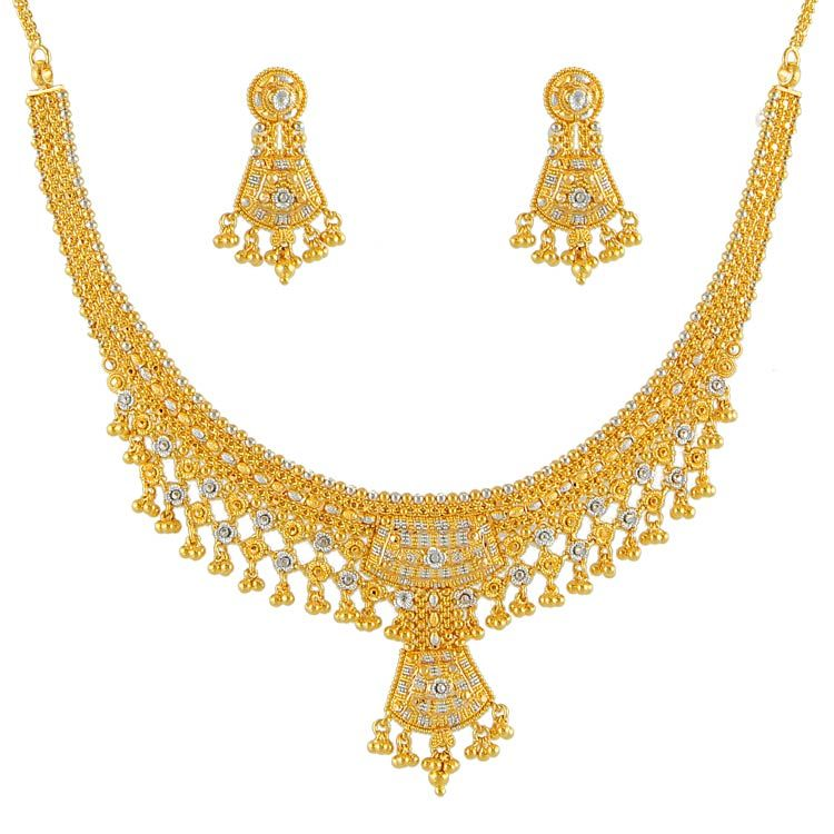 Latest Gold Necklace Designs | Gold Jewellery | Pinterest ...