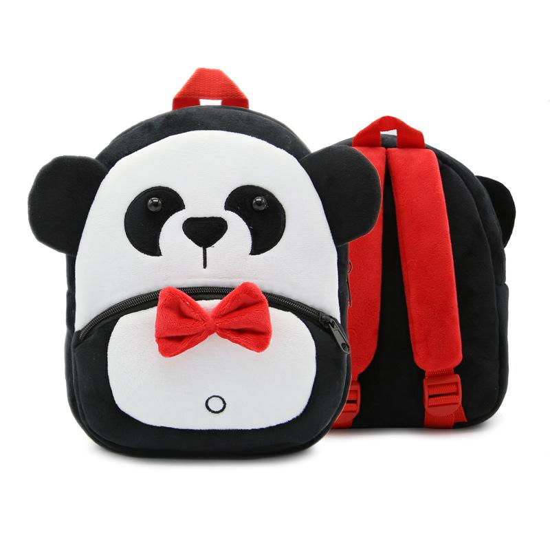 70179c75c5 Free Shipping 2018 Plush Children Backpacks Kindergarten Schoolbag 3D  Cartoon Monkey Animal Kids Backpack Children School Bags for Girls Boys –  QCLOUTH