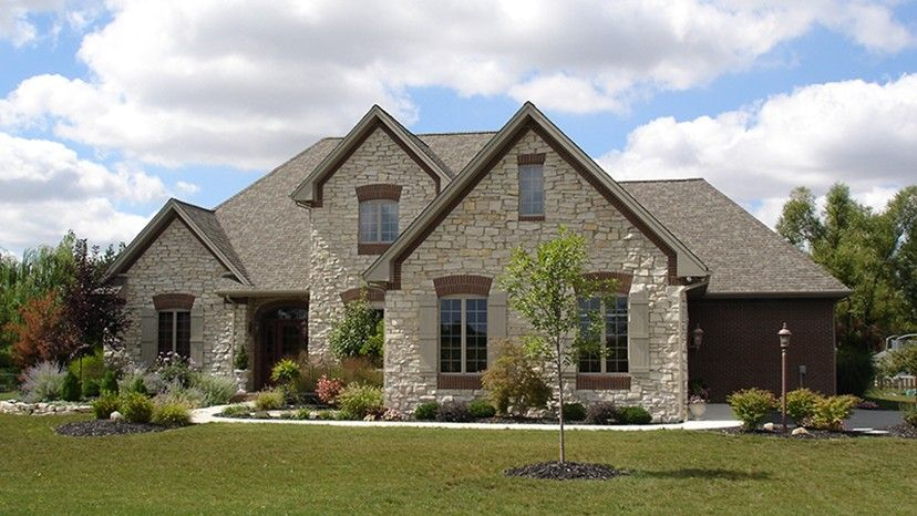 Home Plan HOMEPW77679 - 2891 Square Foot, 3 Bedroom 2 Bathroom + Chateau Home with 2 Garage Bays | Homeplans.com