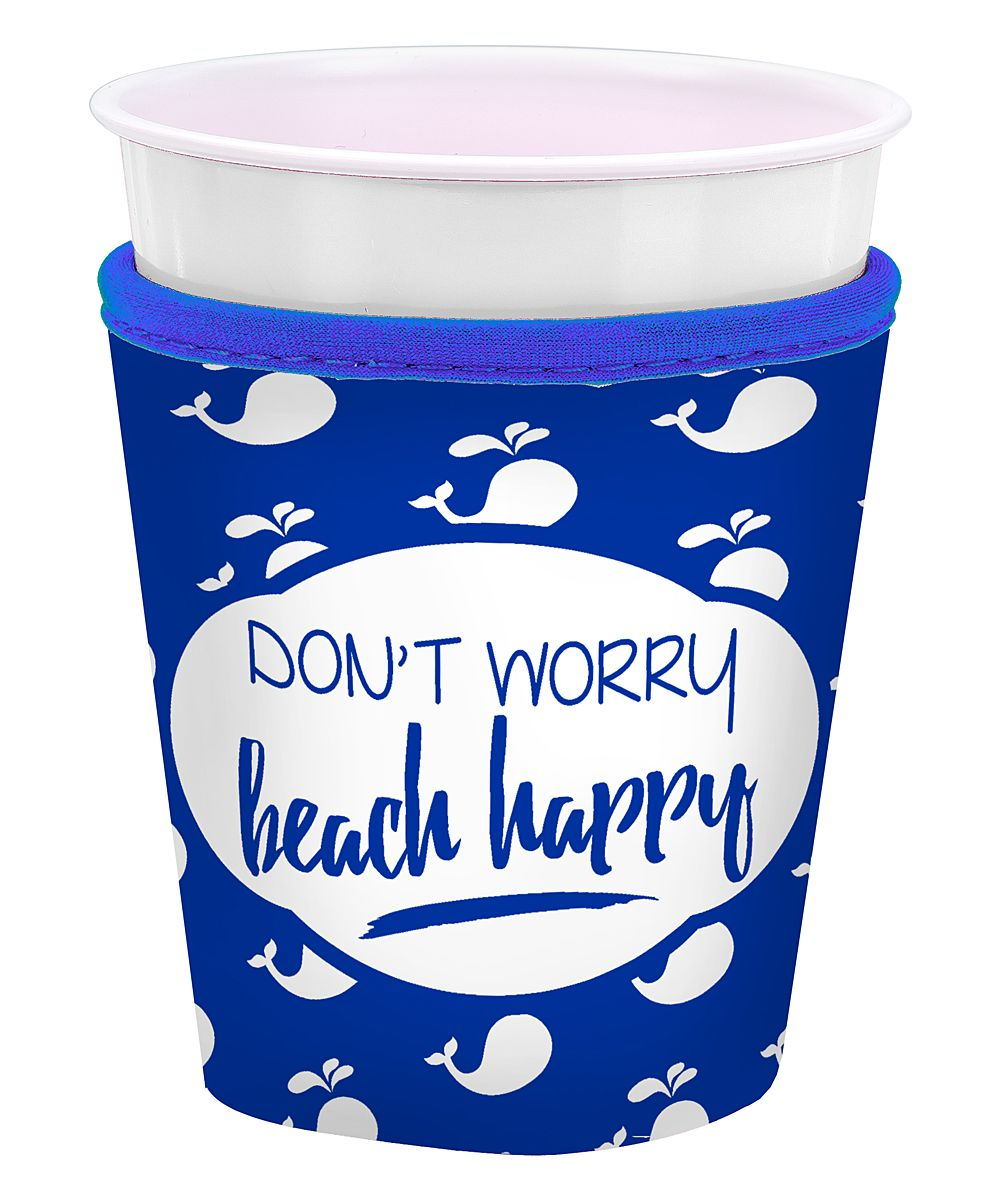 Don T Worry Beach Hy Insulated Cup Sleeve