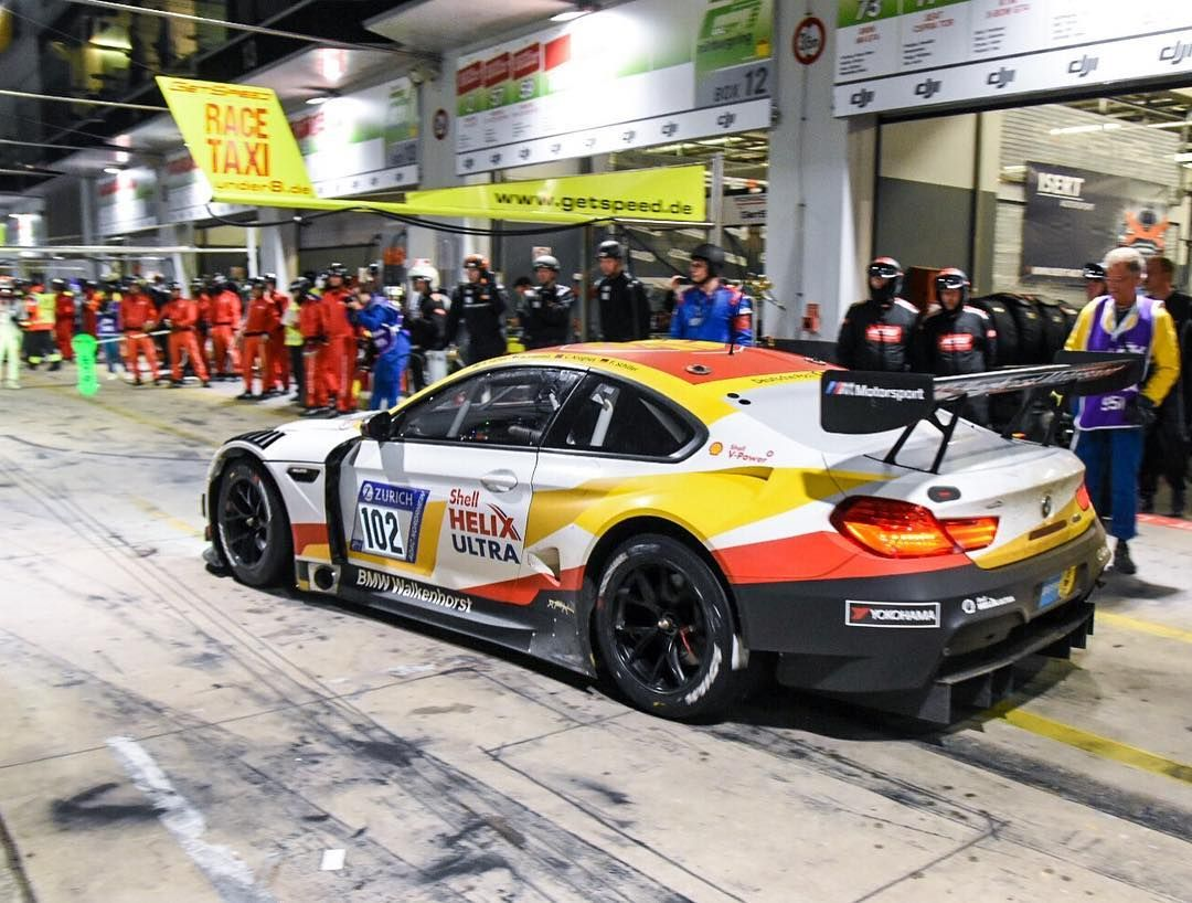 Shell Helix Bmw M6 Gt3 Driver Change Mpalttala Heads Out To The