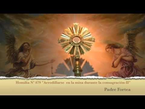 """Sermón 879 """"Arrodillarse en la misa durante la consagración-II"""" - YouTube"""