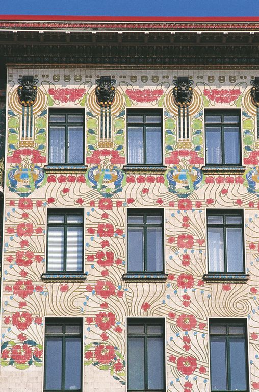 'Majolika Haus'(18981899) designed by Otto Wagner a 6