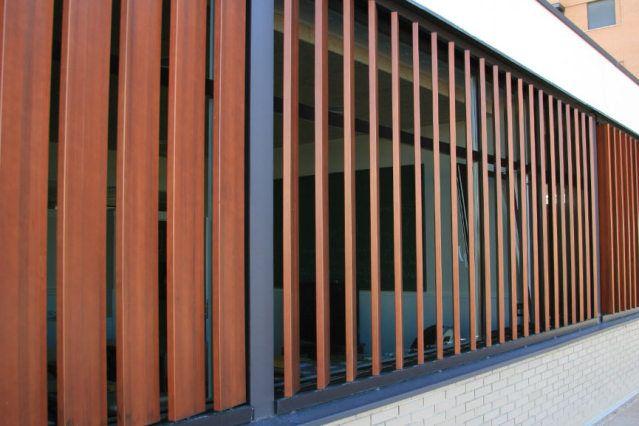 Img art architect and designs persianas de madera - Cerramientos de fachadas ...