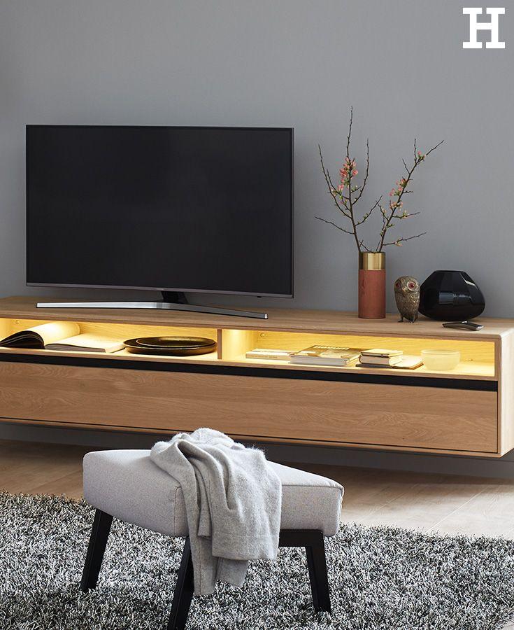 SCHÖNER WOHNEN Lowboard hängend Craft Living rooms and Room