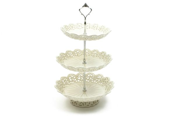 Casa Domani Chantilly  Tier Cake Stand