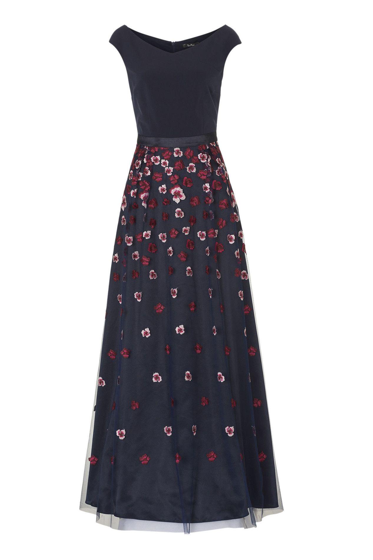 Wunderschönes Blütenkleid | Blaues abendkleid, Kleider und ...