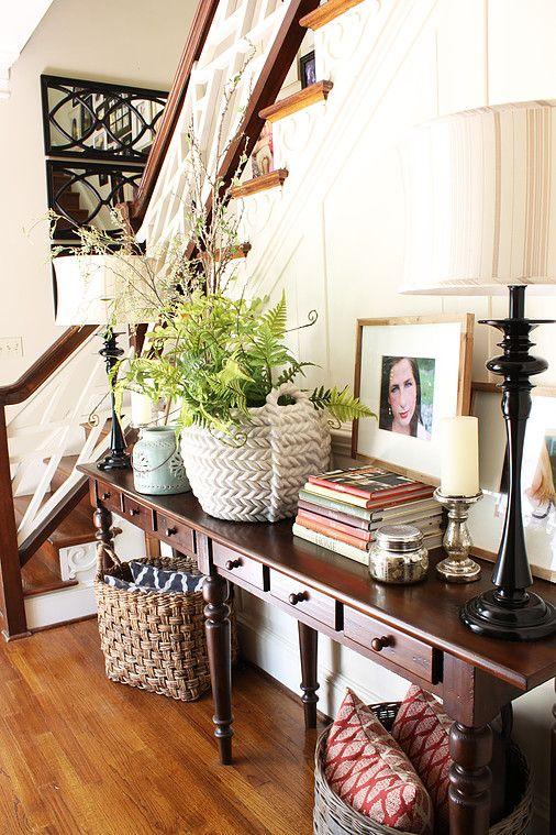 Transitional Foyer Webb Smith Interiors Interior Design