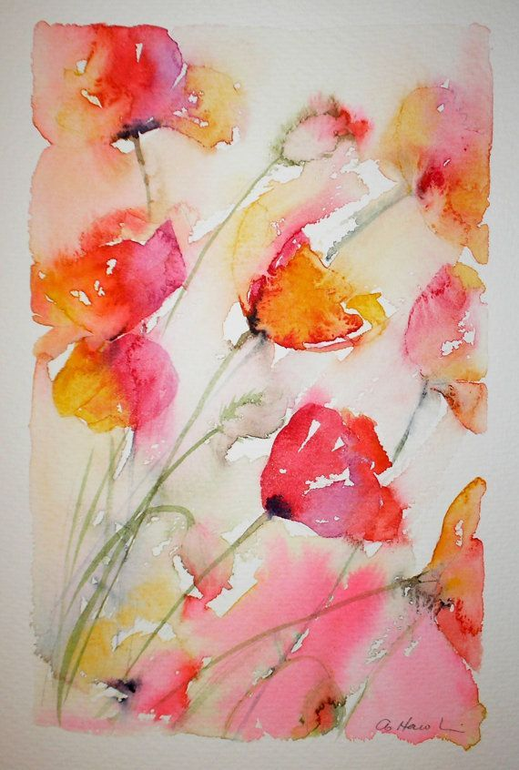Image Result For Hobby Lobby Poppy Flowers Water Color Flower