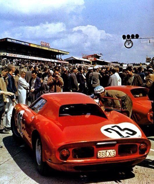 Langlois / Dumay, Ferrari 250LM (Le Mans,1964):