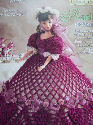 Perfect Crochet Doll Dress Free Pattern Festooning Easy Scarf