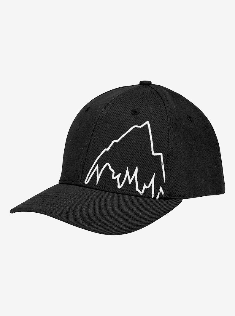 Men s Burton Mountain Slidestyle Hat shown in True Black  ccae938f6b713