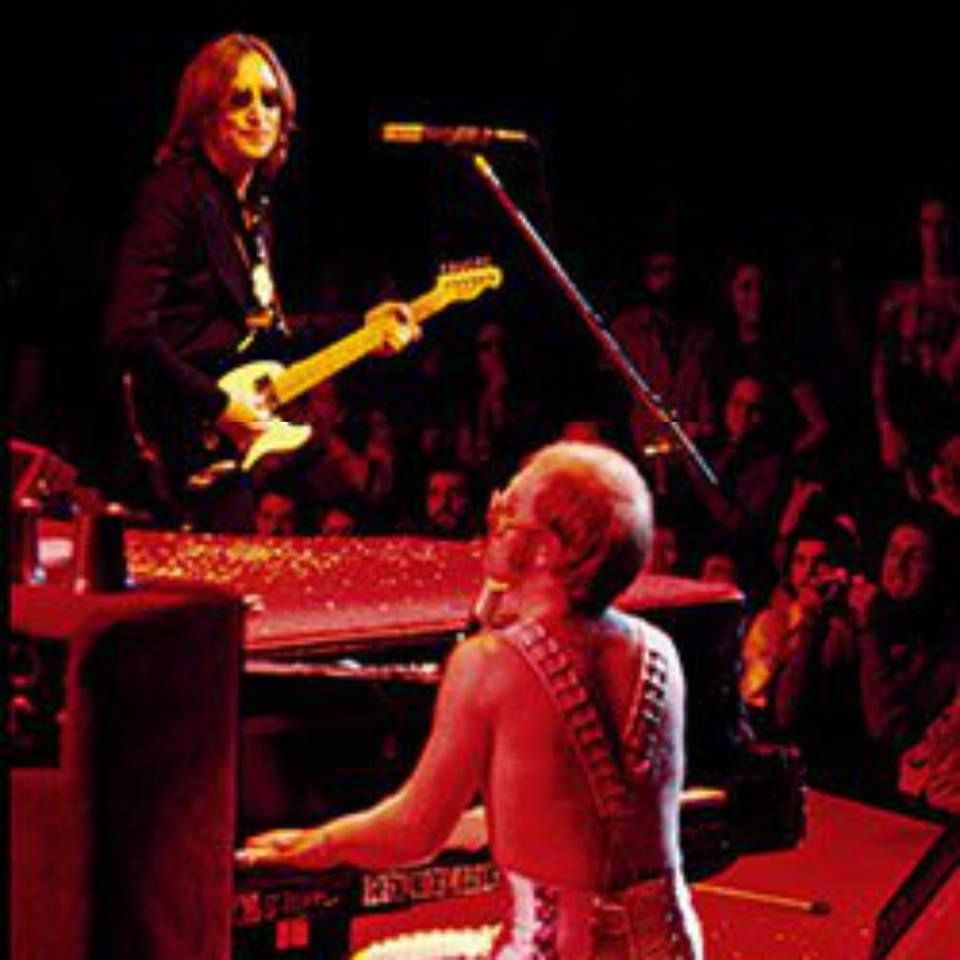 John Lennon Y Elton John Madison Square Garden 1974 Elton John The Beatles John Lennon