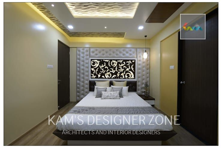 Bedroom Interior Design: Modern Bedroom By KAMu0027S DESIGNER ZONE