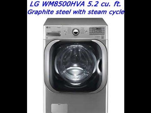 Lg Wm 8500 Hva Washing Machine Review Washer And Dryer Steam Washer Electric Washer