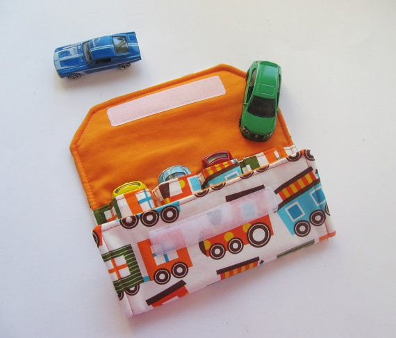 Sew A Toy Car Holder : Car wallet have to make this for the boys sewing