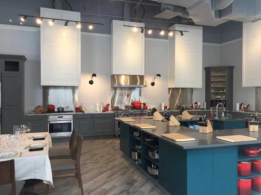 Charleston cooking school designed by cristina swinney