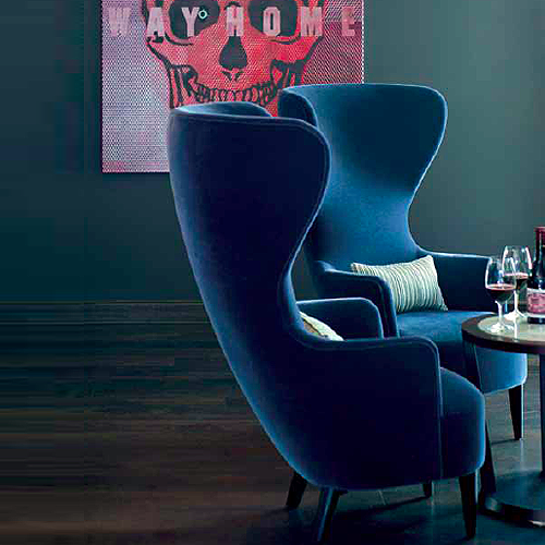 Wingback Chair Chairs Seating Furniture By Tom Dixon A - Tom dixon wingback chair