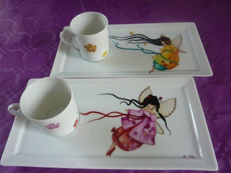 Nouvelle fiche peinture porcelaine pinterest for Decoration sur porcelaine