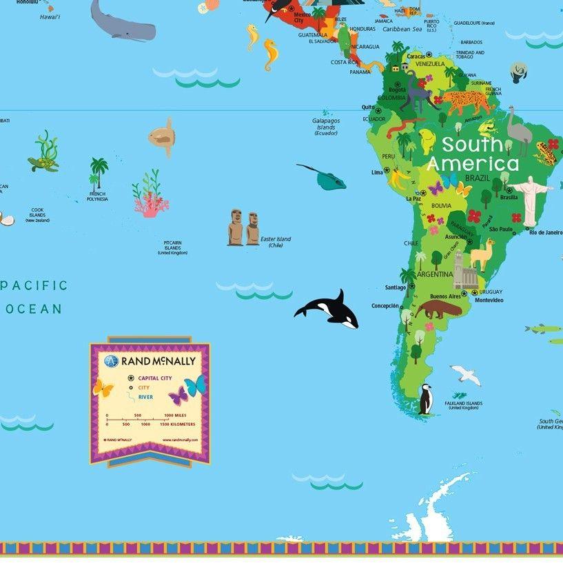 Image Result For Brazil Map For Kids Brazil Map Maps For Kids