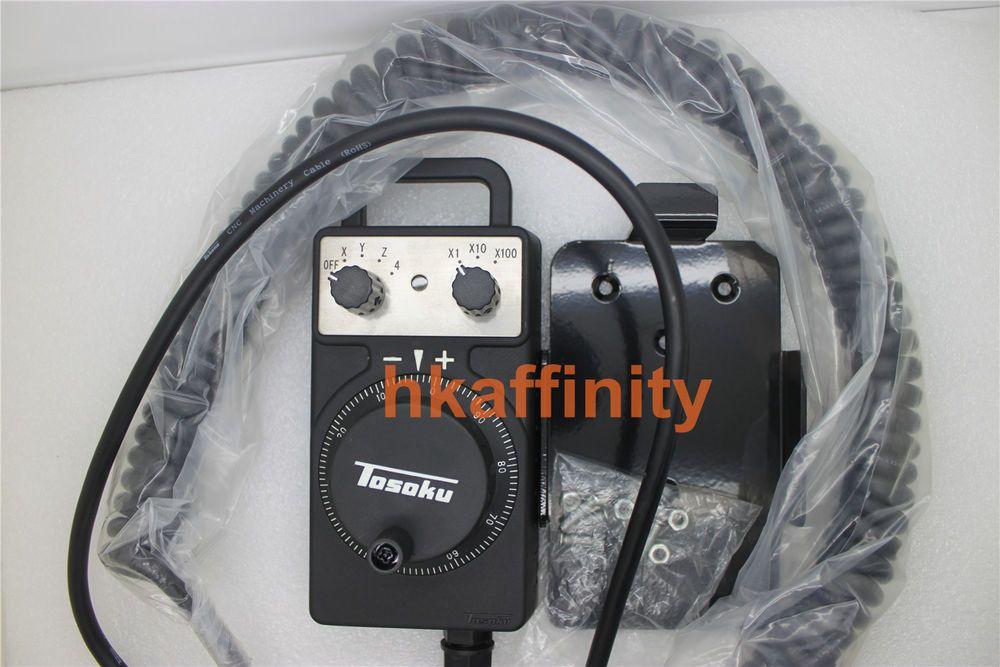 Hc111 Tosoku 4axis Manual Pulse Generator Mpg Electronic Handwheel For Okuma Cnc Cnc Machine Generation Ebay