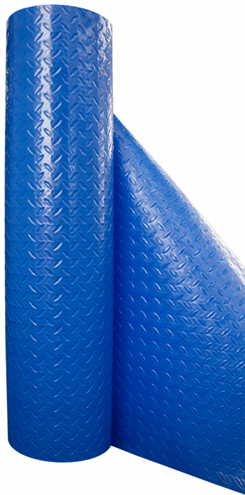 36 X100ft 280 Blue Diamond Paint Booth Floor Covering Is A Thick