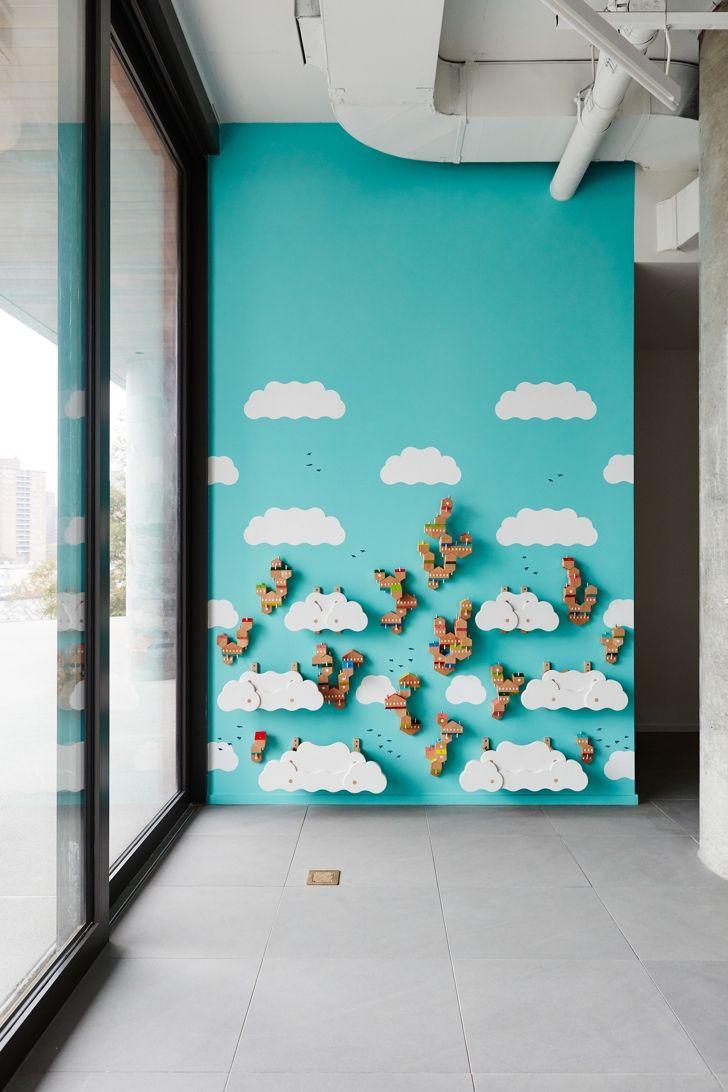 Sky Villages, an Interactive Children\'s Installation | Interactive ...