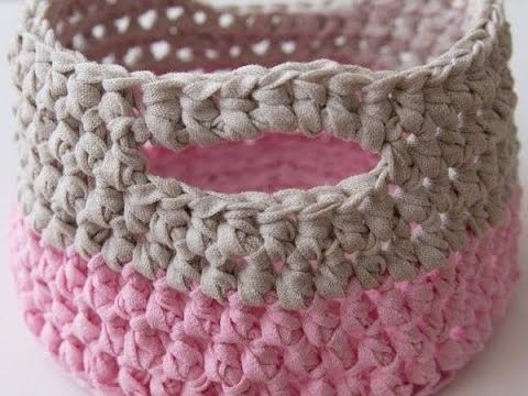 Easy Crochet Basket Pattern By Woc Crochet Basket Pattern Easy