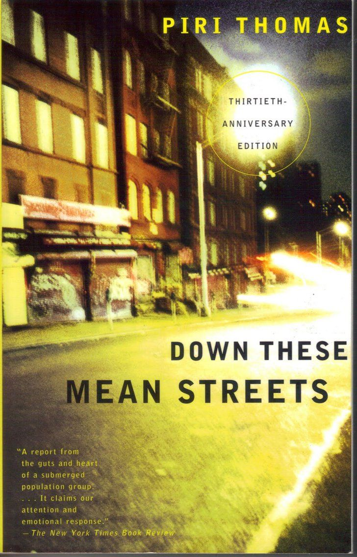 an analysis of the book down these mean streets as a classic confessional autobiography Between you & me has 4,523  some mildly amusing anecdotes and some informative sections although these usually got too bogged down to  that's no mean feat, but.